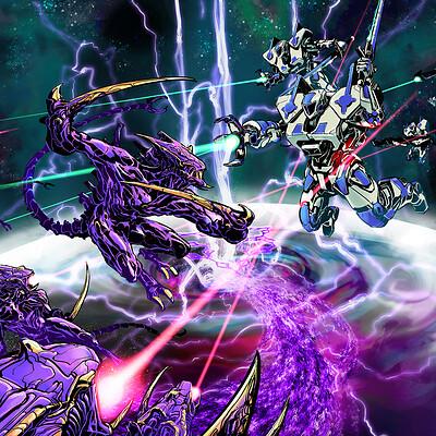 Atom cyber vulta swarm full no titles