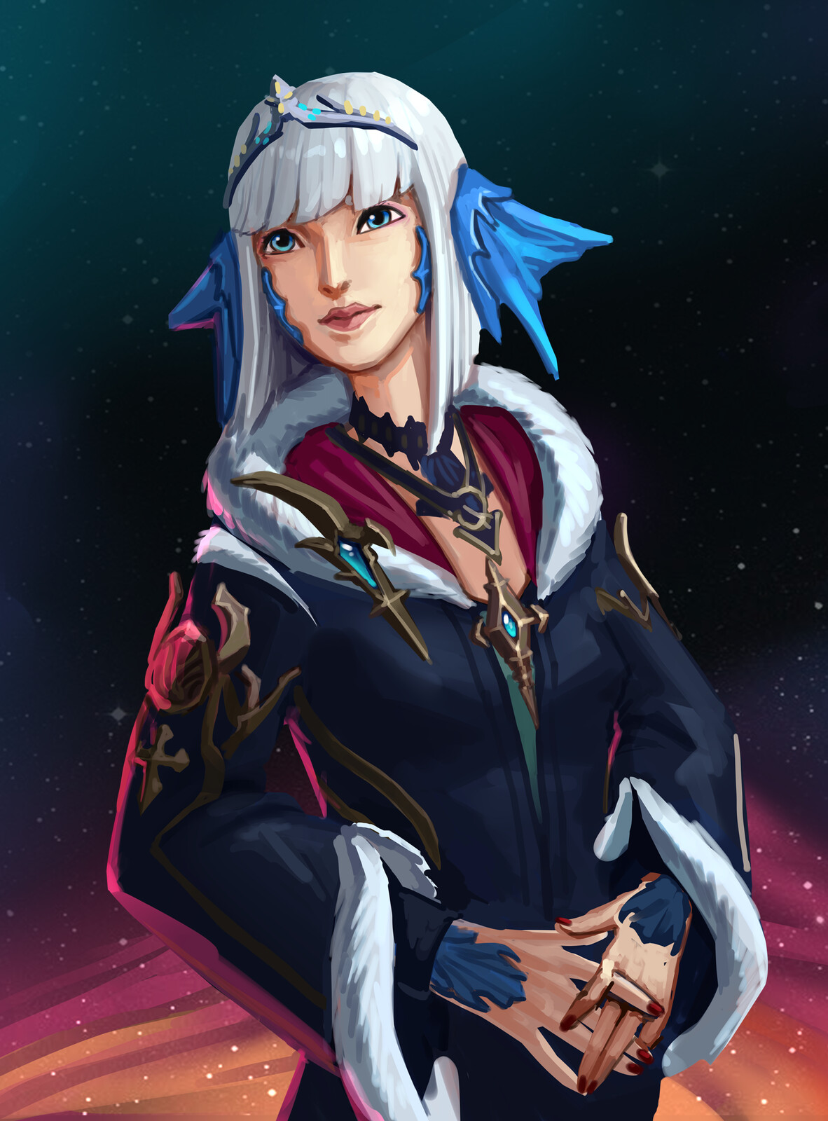 Final fantasy character commission