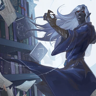 Laura galli lilith5th the wizards library