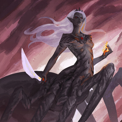 Laura galli lilith5th spider queen