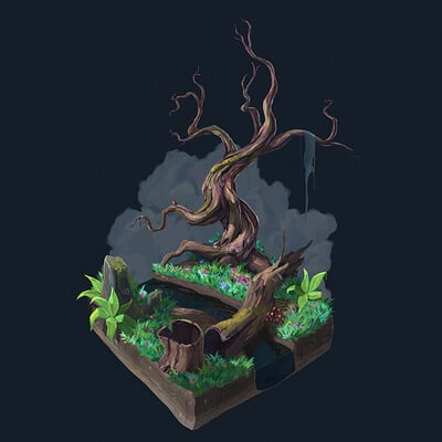 Tree Diorama