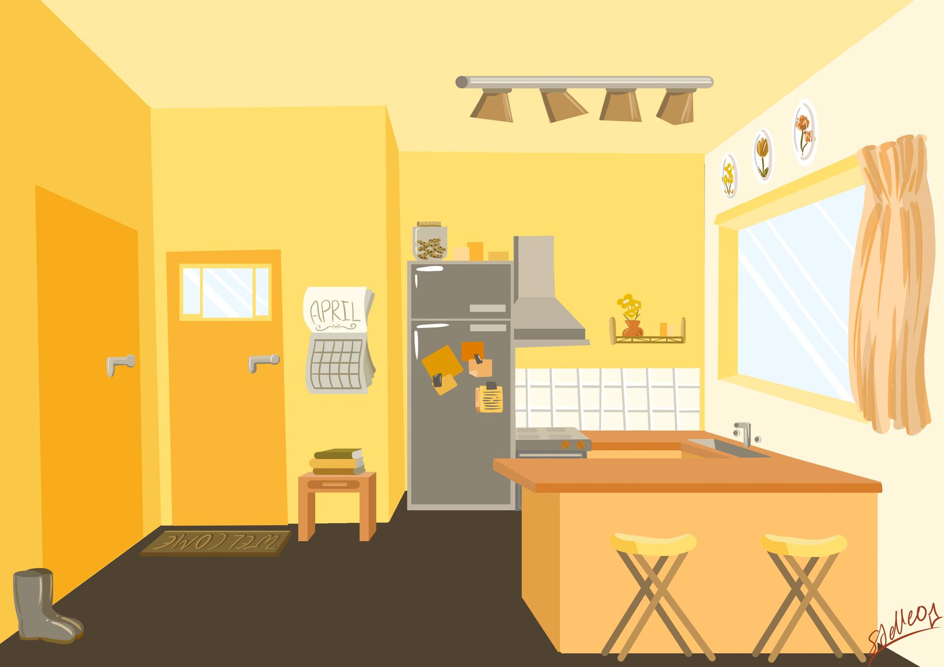 Zoe Hughes Sunny Kitchen
