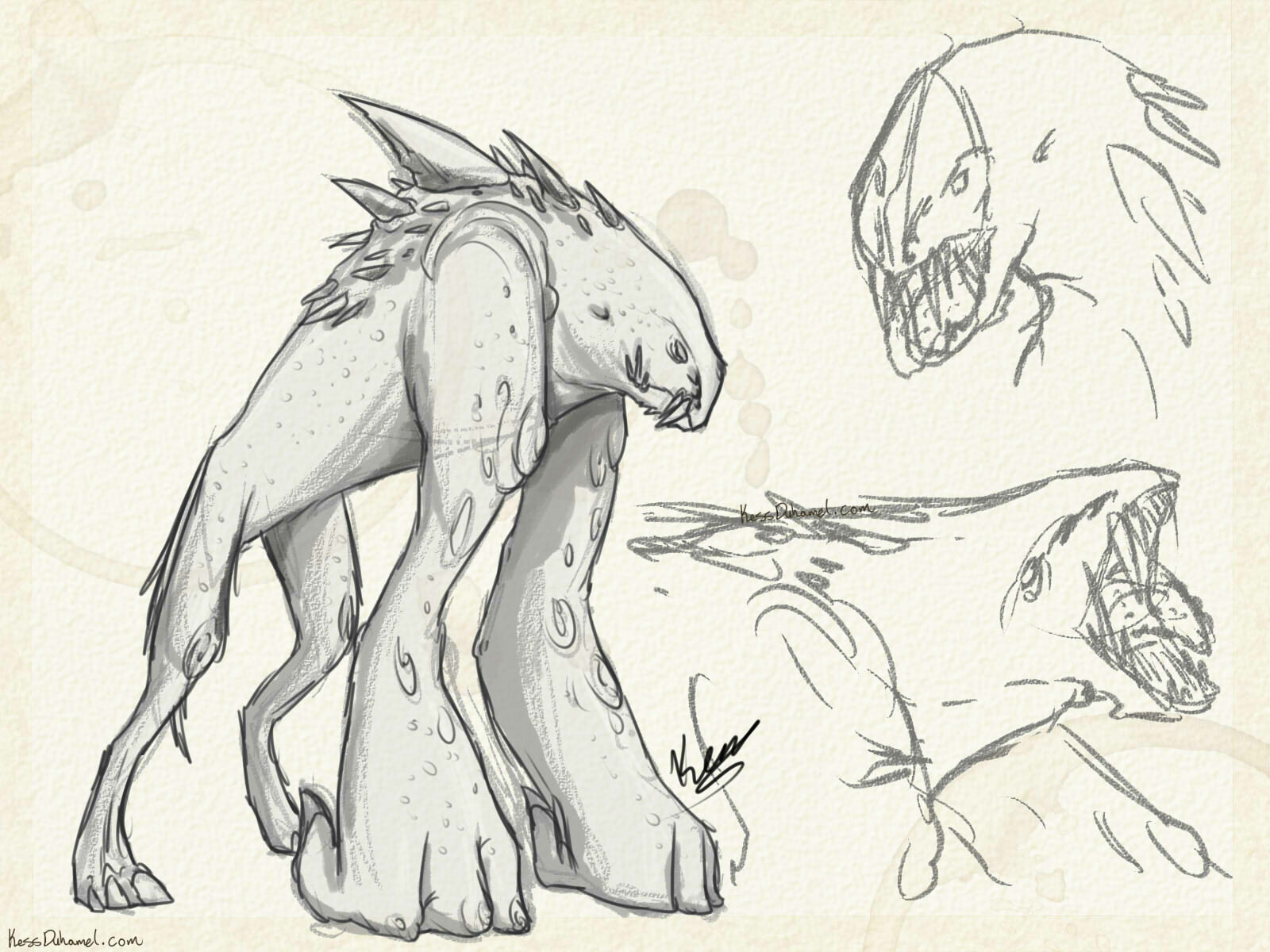 Creature Project #001