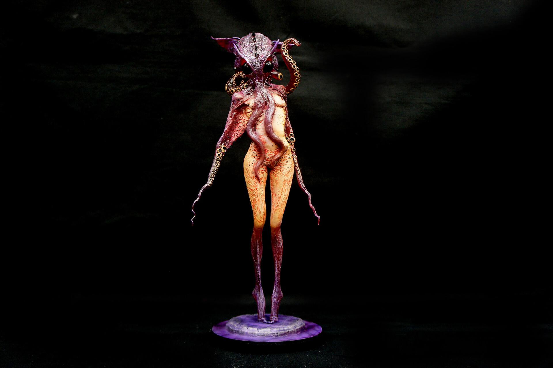 The Octopus Art Statue