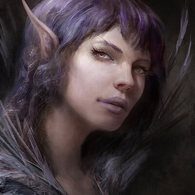 Antonio j manzanedo elf portrait final manzanedo