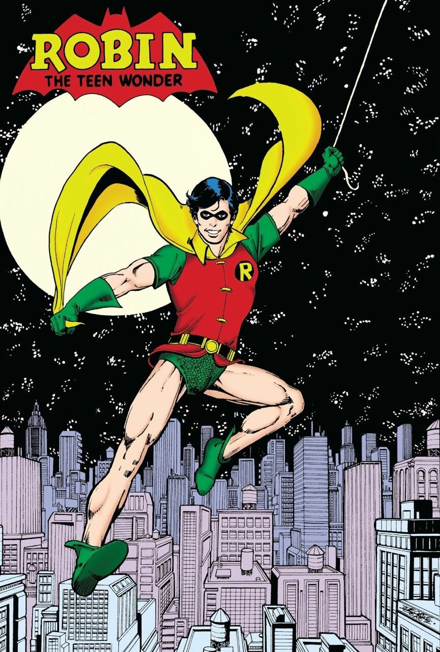 Robin by George Perez - image used as main reference.