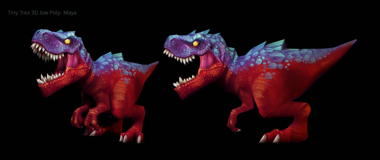 Quick 3D render - Maya and Blender (Eeve)