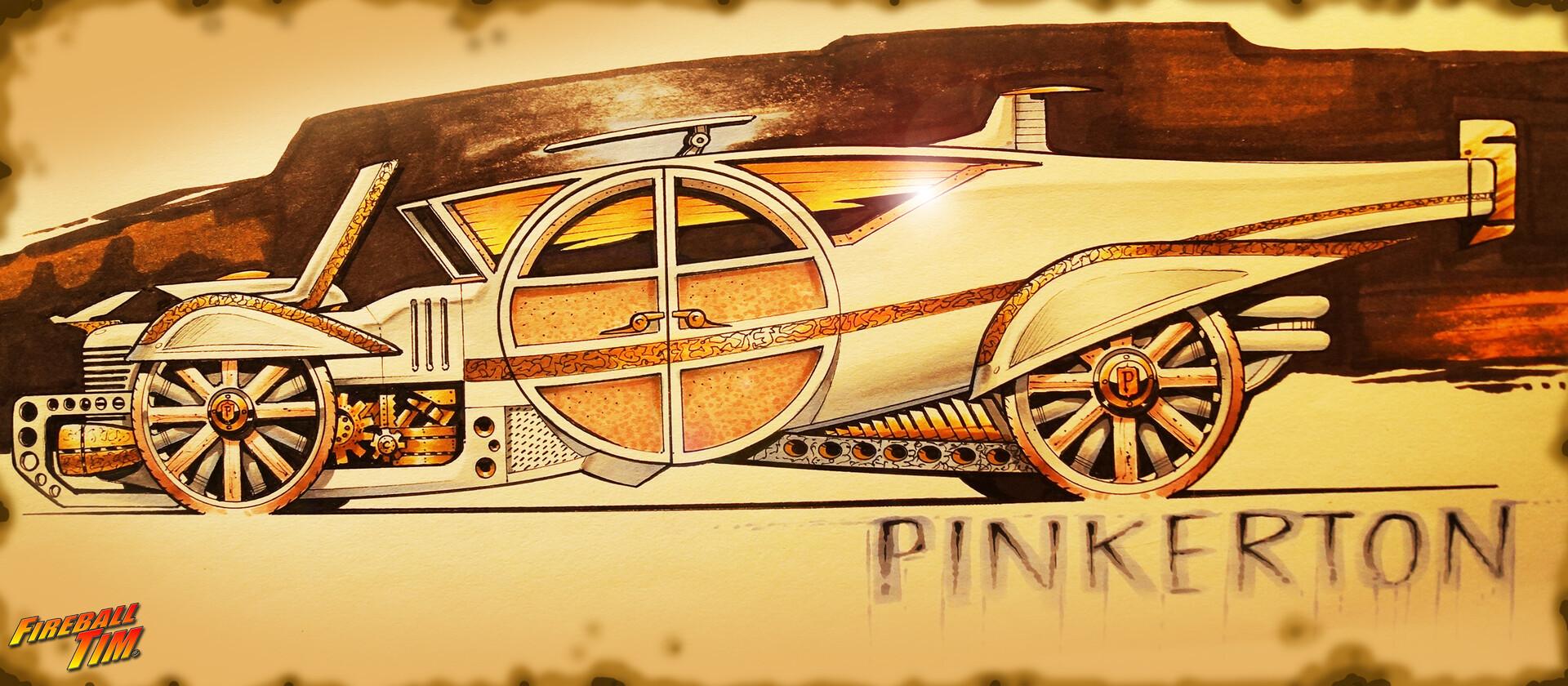 PINKERTON VINTAGE - PRIVATE CLIENT http://www.fireballtim.com