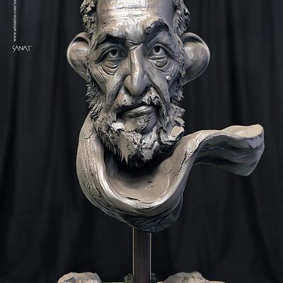 Surajit sen sanat digital sculpture surajitsen jan2020s