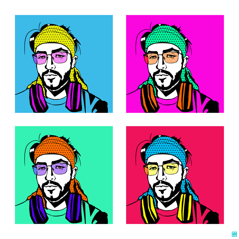 Pop Art Self-Portrait