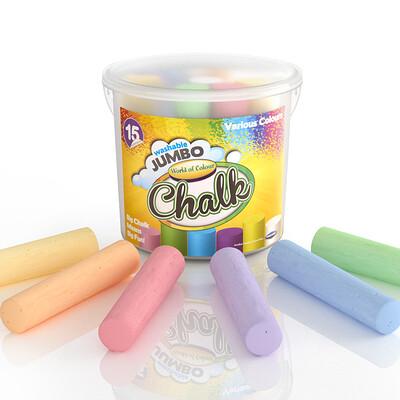 Janine pauke jumo chalks still