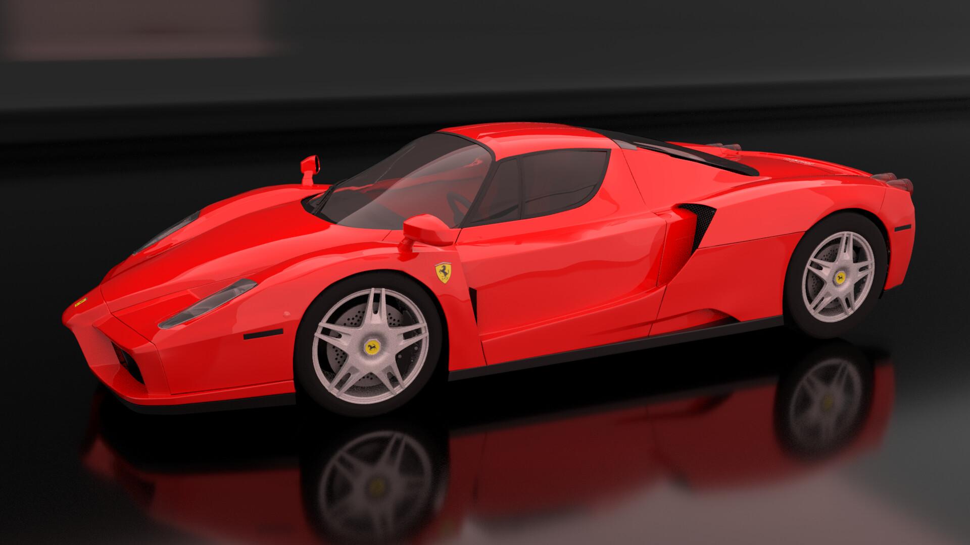 Sam Davidson 3d Ferrari Enzo Model