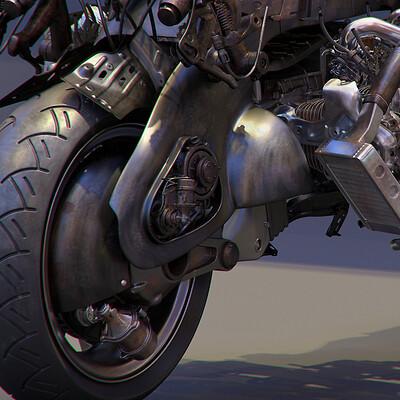 Ying te lien flat 6 cylinder engine bike 2020