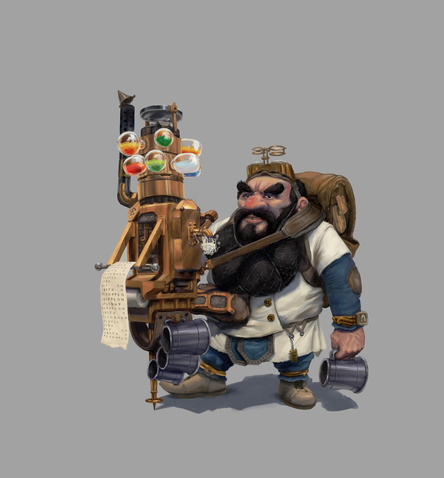Dwarf Physician