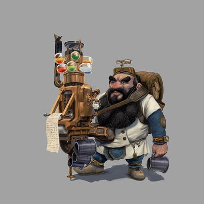 Chris waller dwarf physician cw