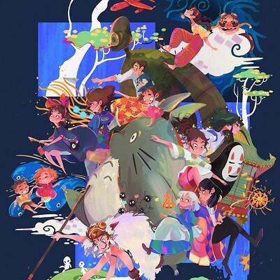 Ghibli_ Miyazaki's movies