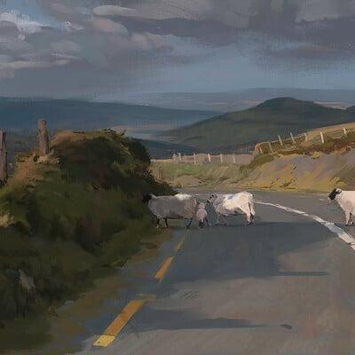 Mike jensen ireland painting final