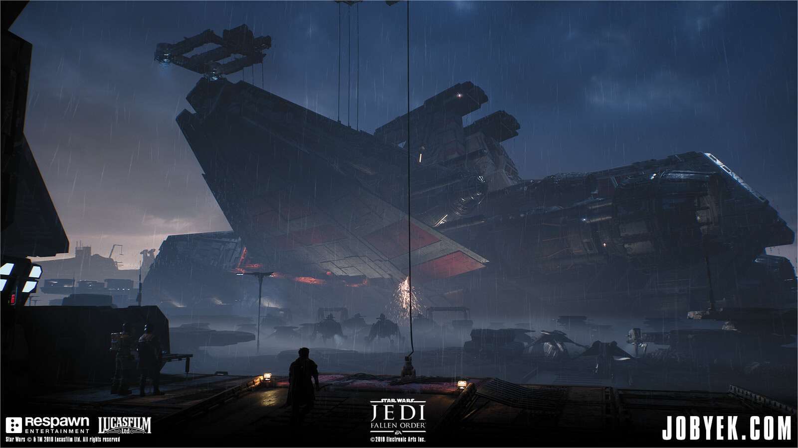 Example of one of the ways the Venator Wing is used in-game