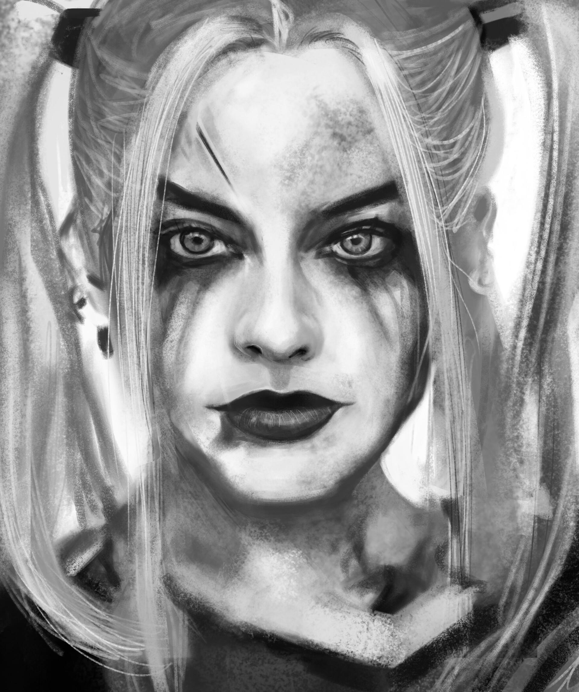 Artstation Harley Quinn Mª Del Mar Garcia Sanchez