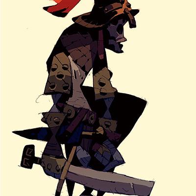 Satoshi matsuura 2020 01 14 skeleton knight s