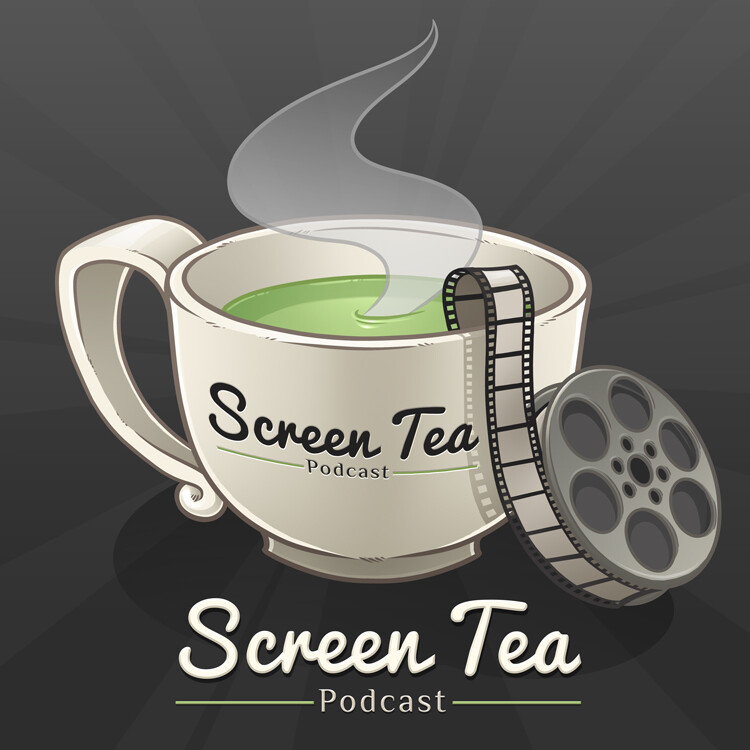Official Screen Tea Podcast logo