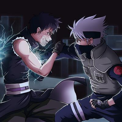 Charly animestation kakashi vs obito final