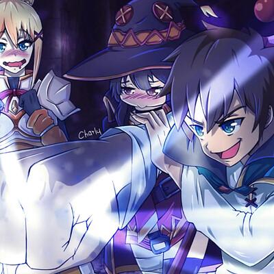 Charly animestation konosuba dibujo 2