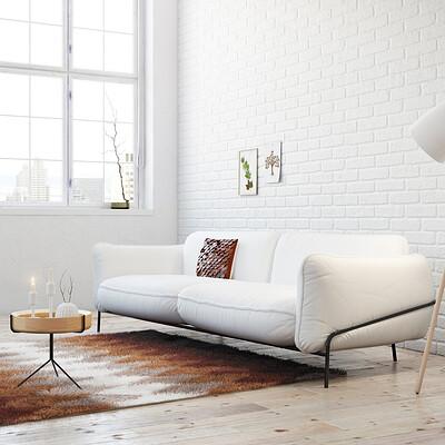 Alex coman simply nordic living room by alexcom d6h7y2t