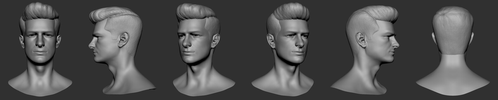 Andrew Garfield Head Sculpt