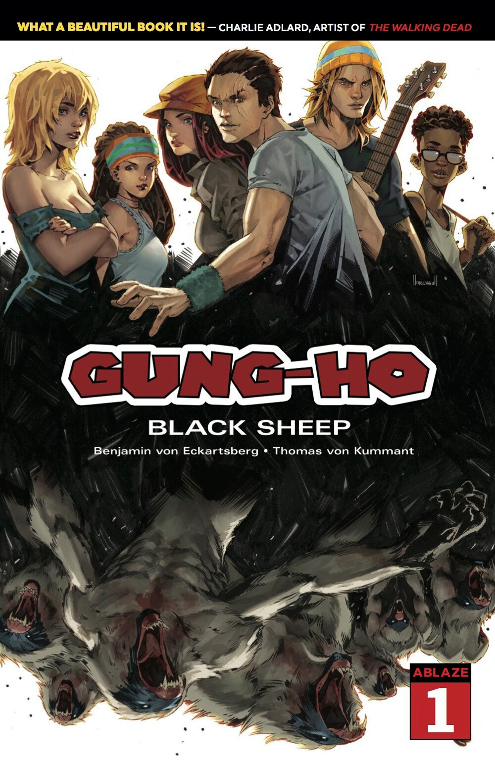 GUNG-HO #1 - A homage of Walking Dead Compendium edition