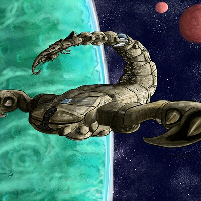 Angie c flying scorpion2