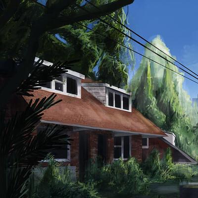 Jarold moreno abandoned house1