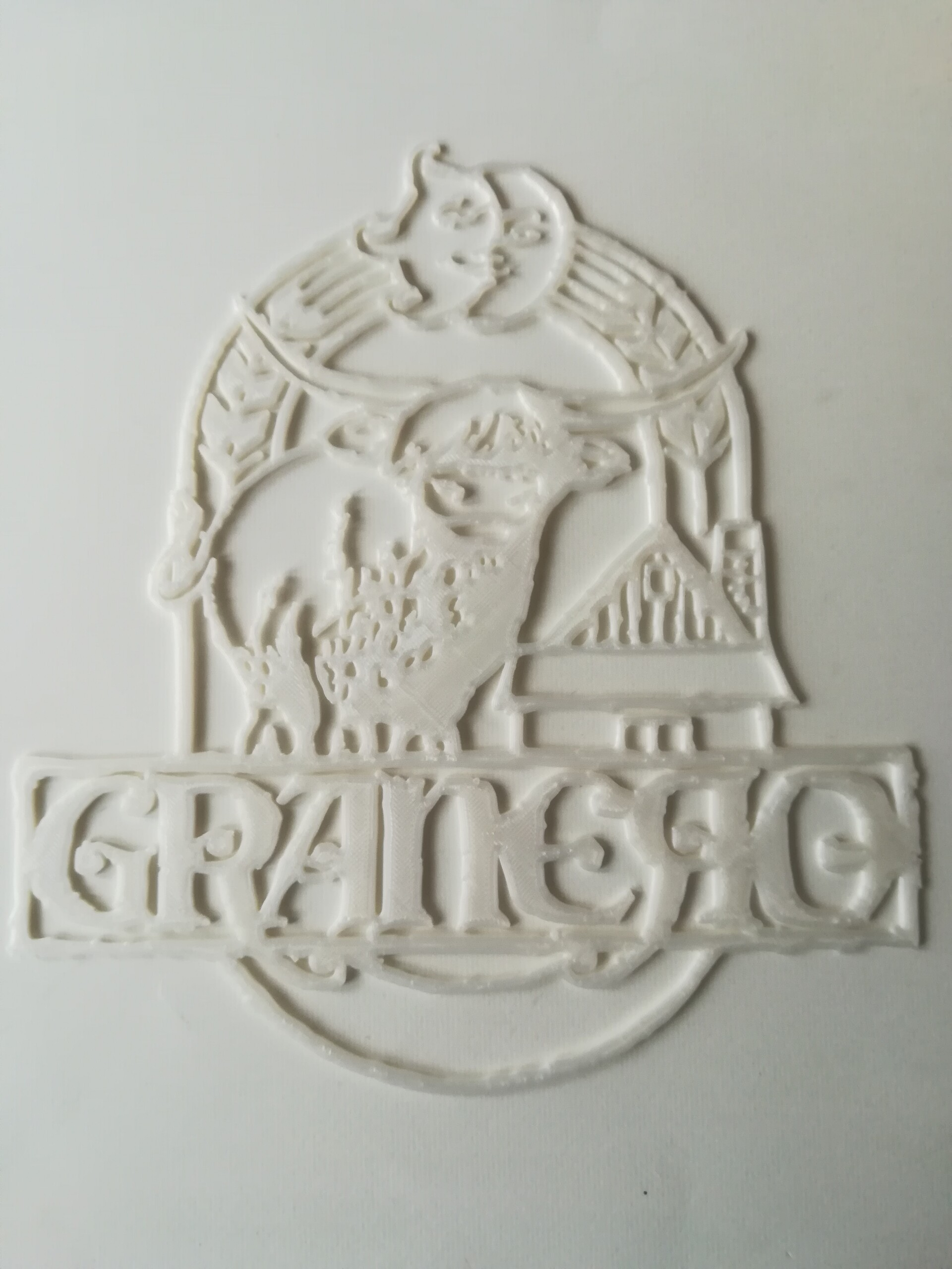 Logo Granero. Print tests