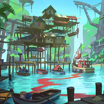 Morgan ketelaar jarass fishing village