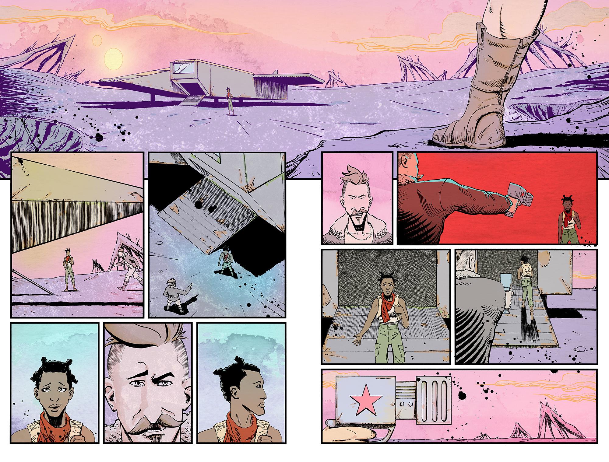 Vagrant Queen #03 pg 16-17