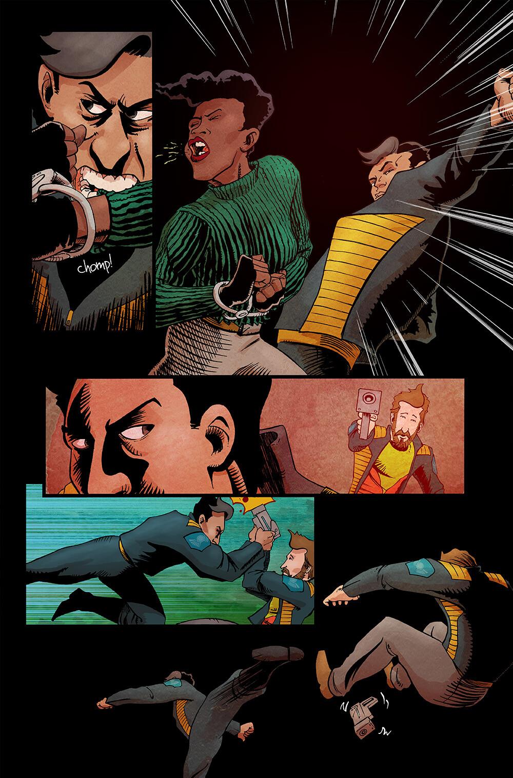 Vagrant Queen #5 pg 19