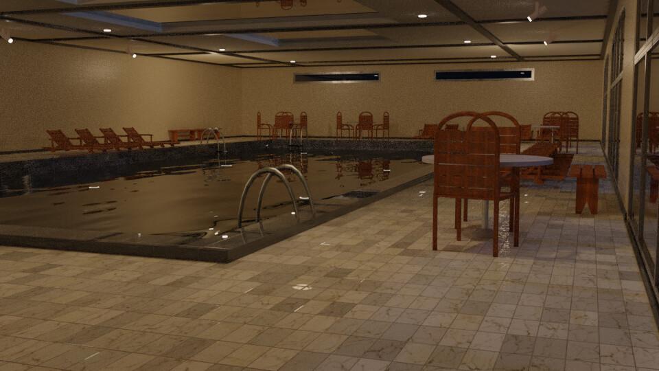 Pool 5 - Night