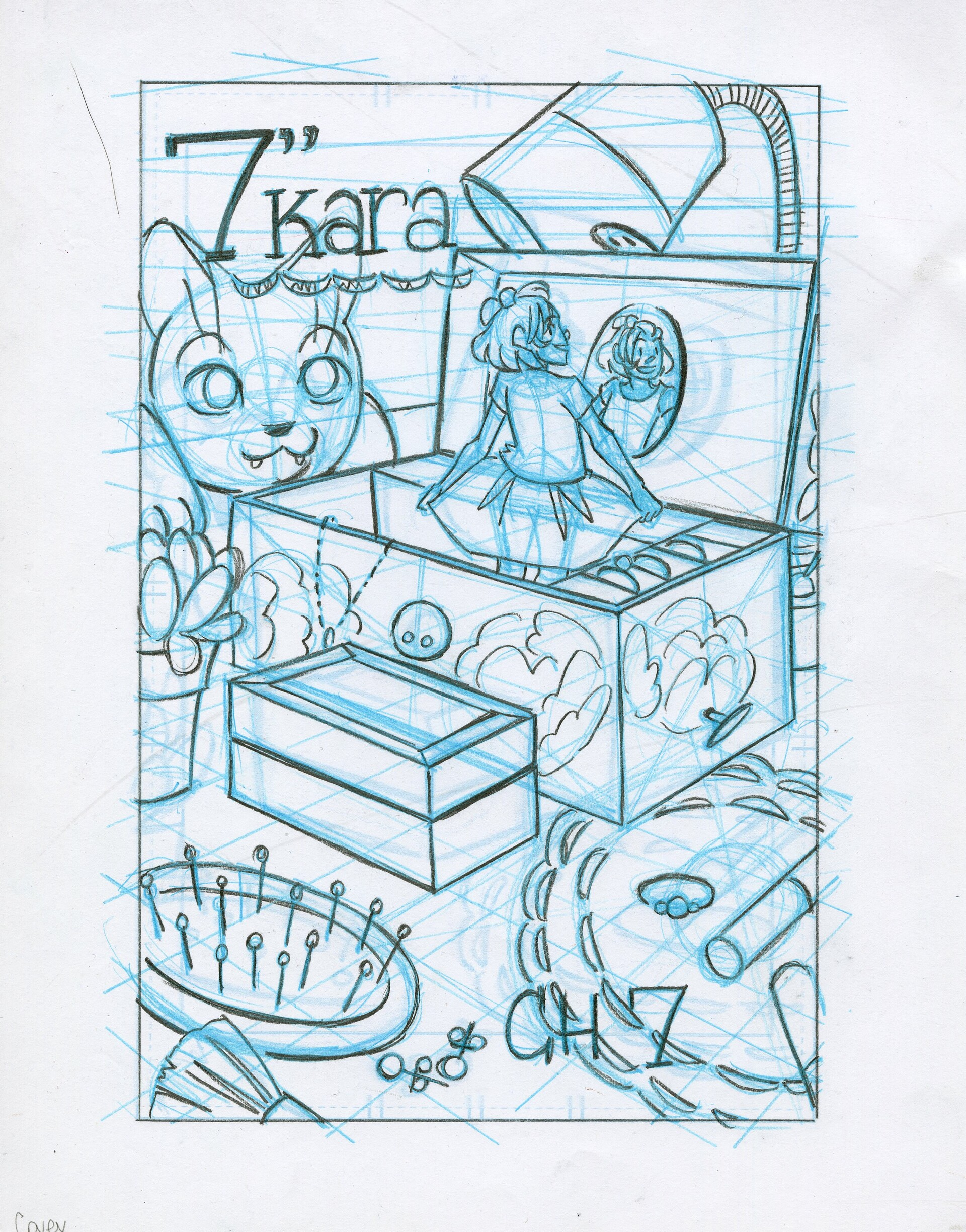 Roughs- Cover