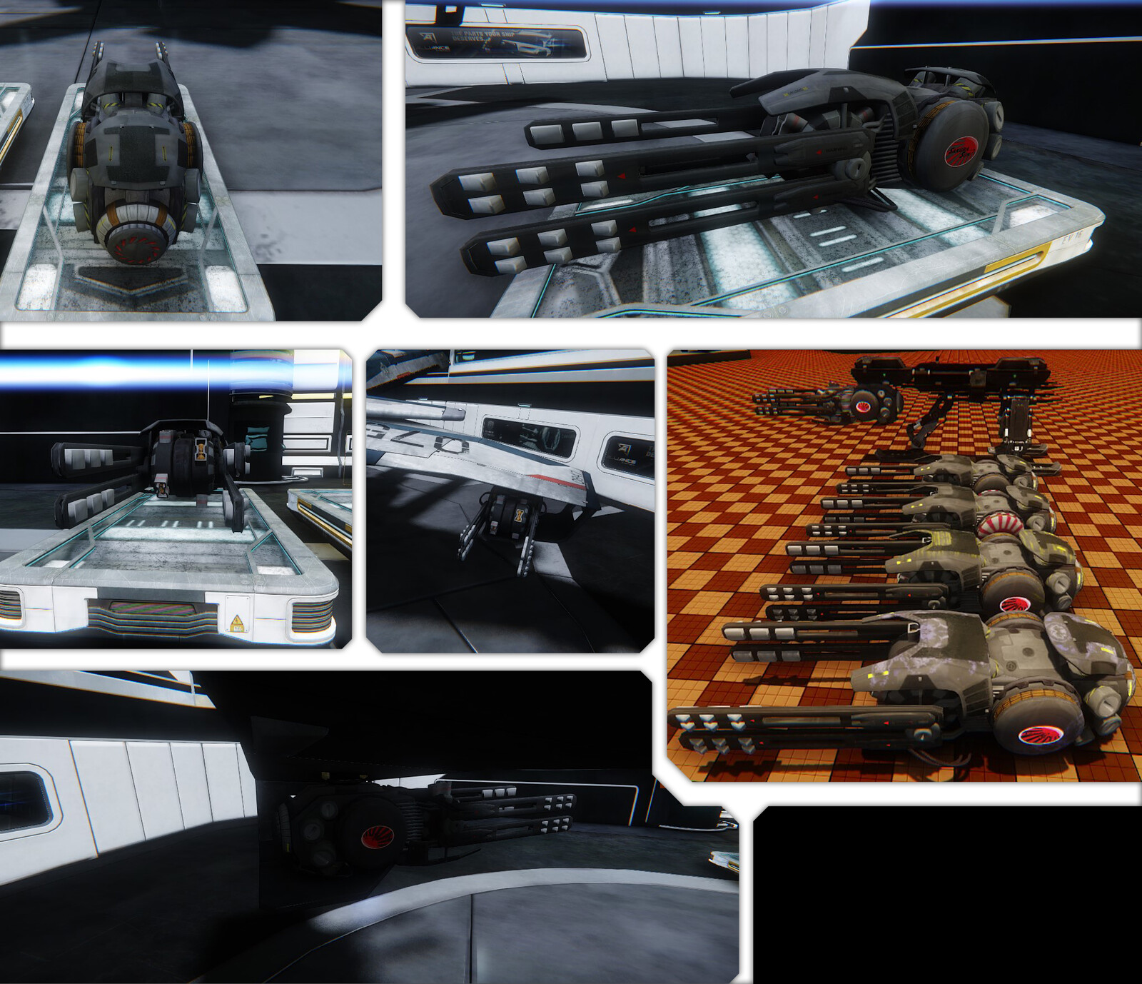 Pictures from in engine, this was shown to the judges along side our video.