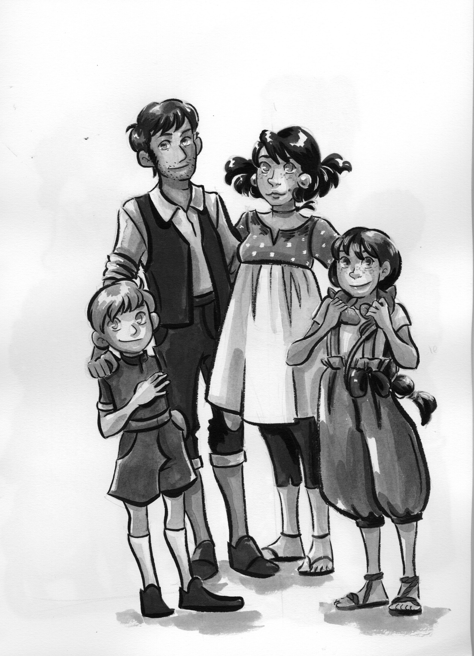 Day 16- Families- House