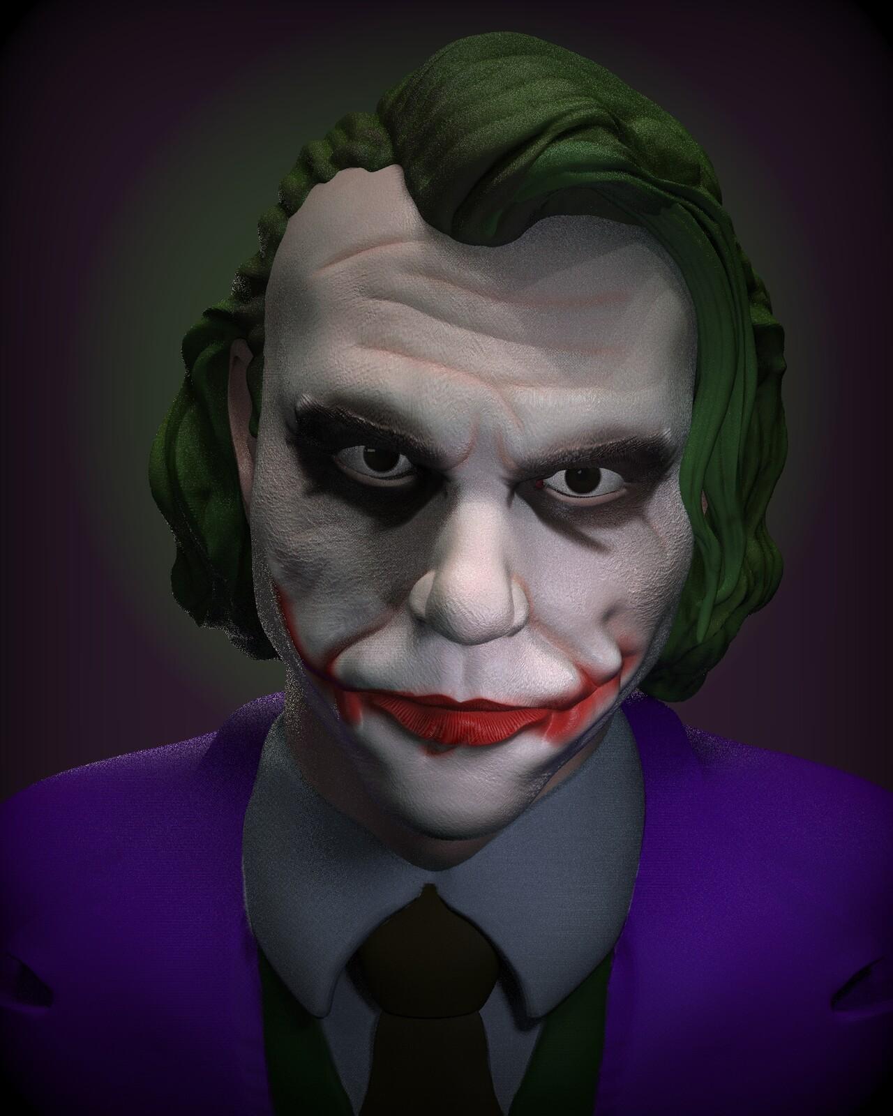 Reworked HL Joker Sculpt