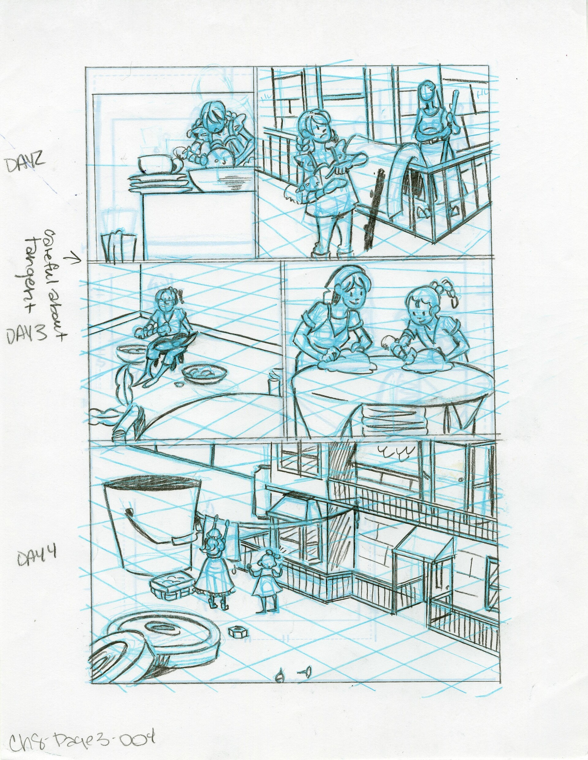 Roughs Page 4