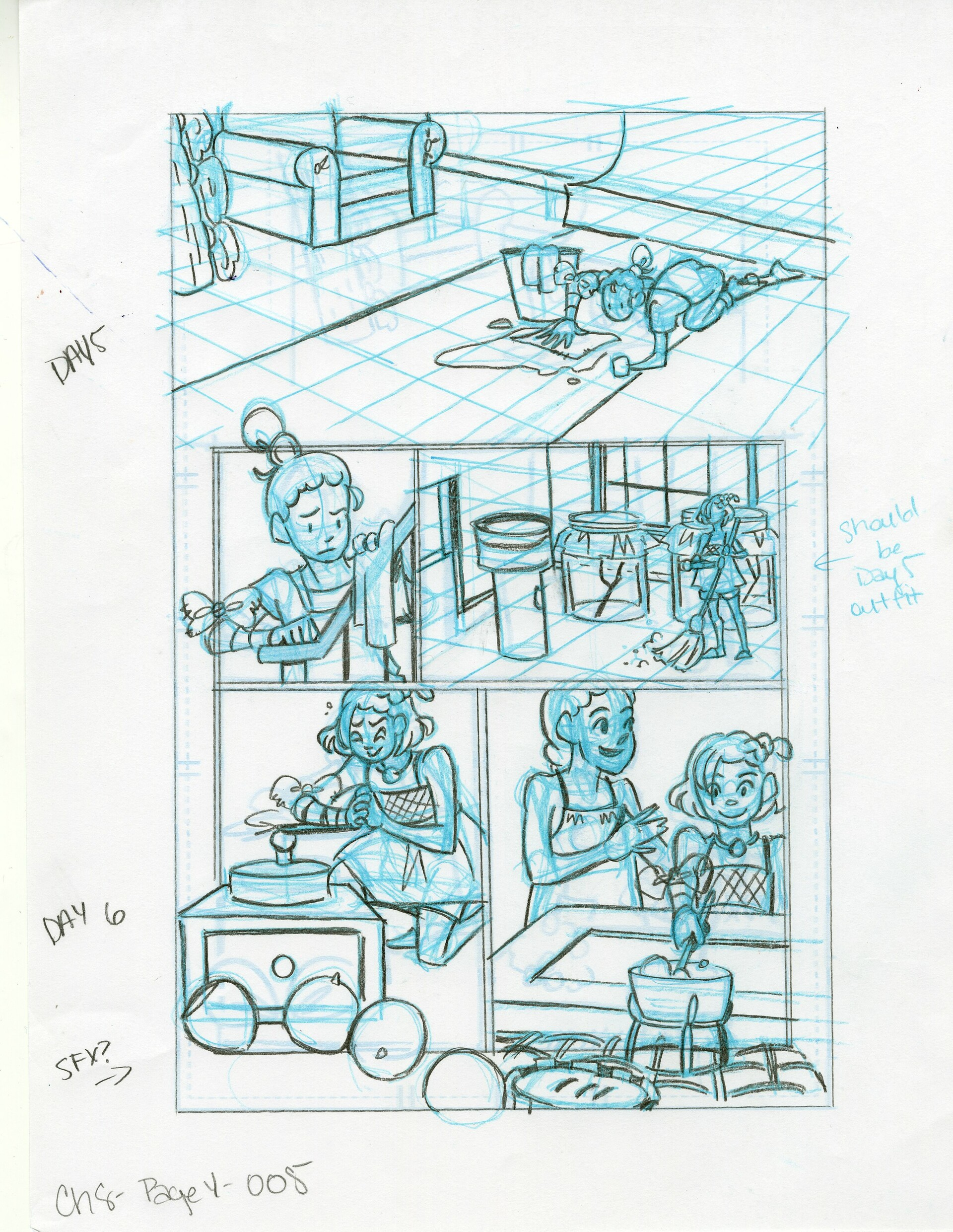 Roughs Page 5