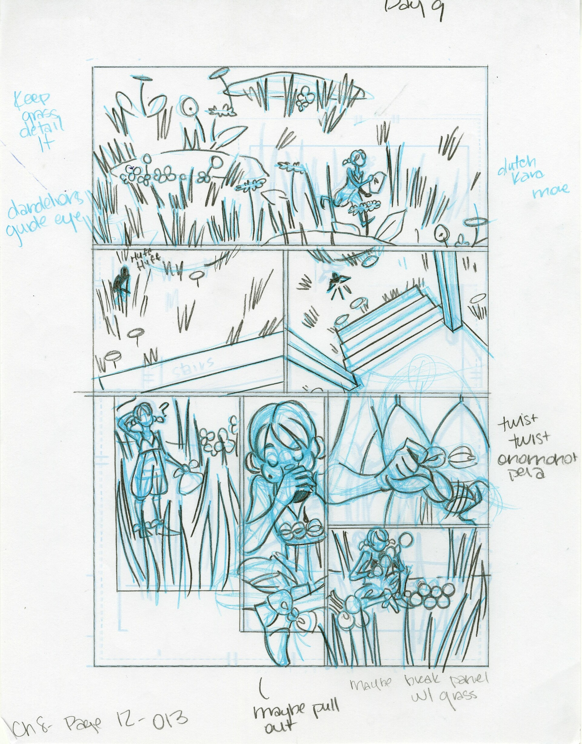 Roughs Page 13