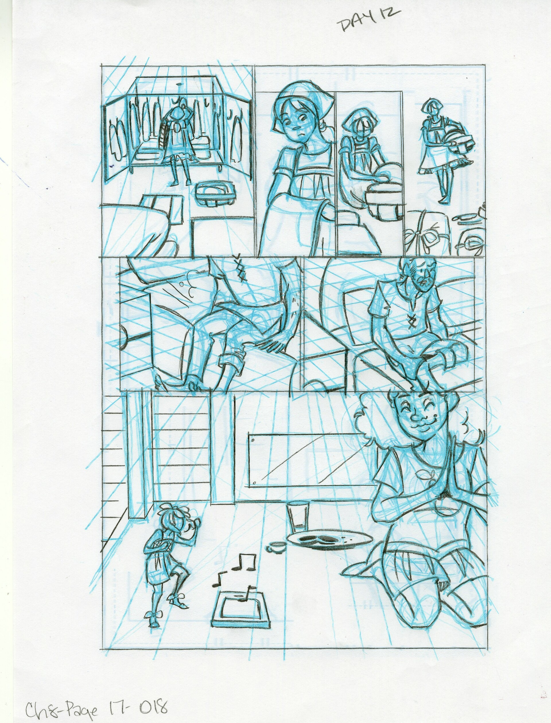 Roughs Page 18