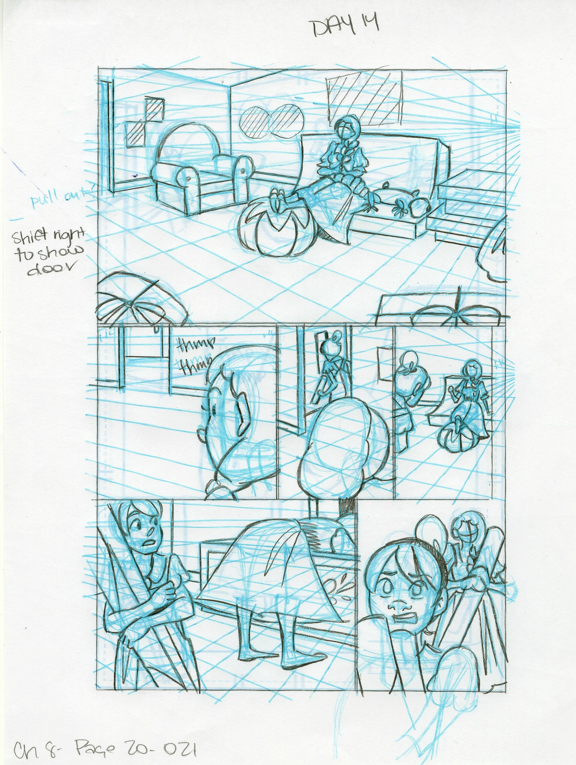 Roughs Page 21