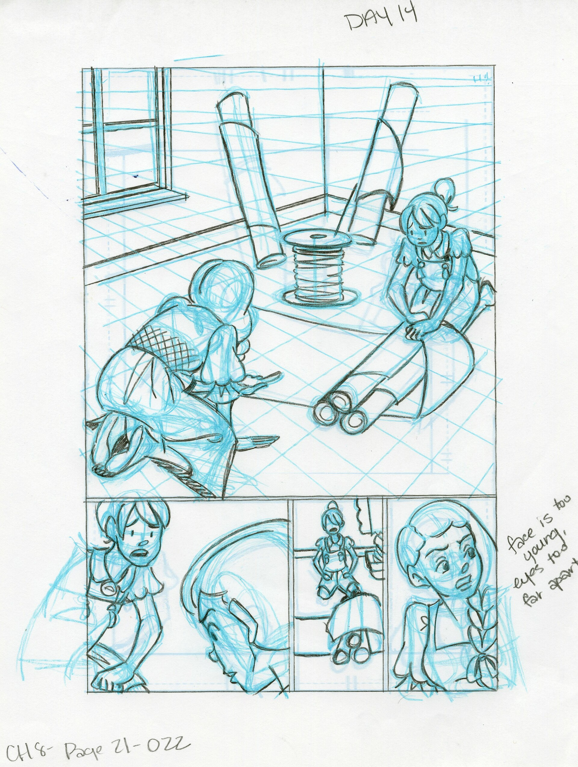 Roughs Page 22