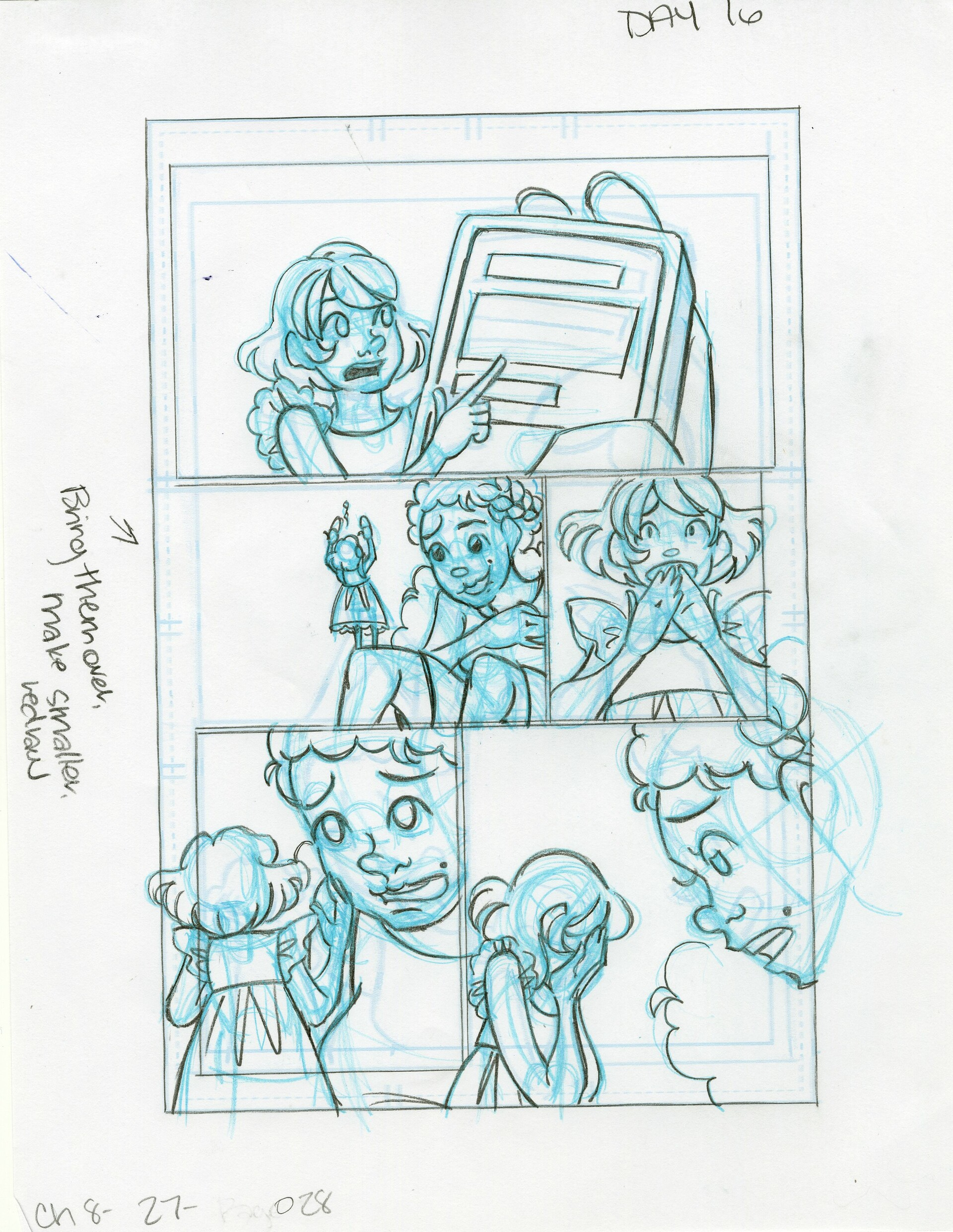 Roughs Page 28