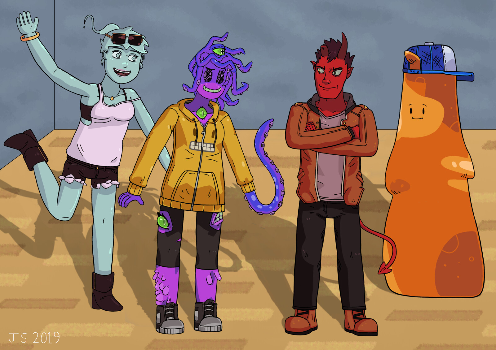 Monster Prom Characters