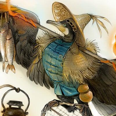 Rachel saunders cormorant 1